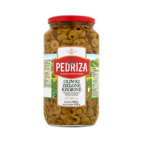 920g oliwki zielone krojone marki La pedriza