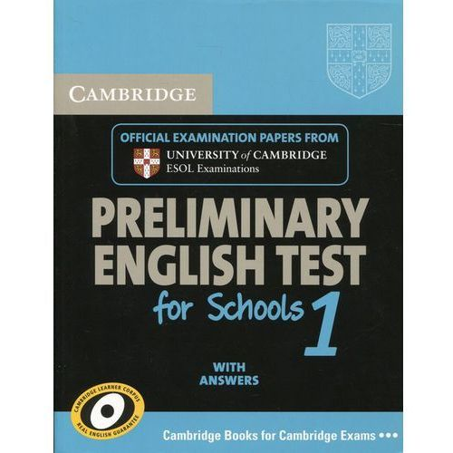 Cambridge PET for Schools 1 Student's Book with Answers (158 str.)