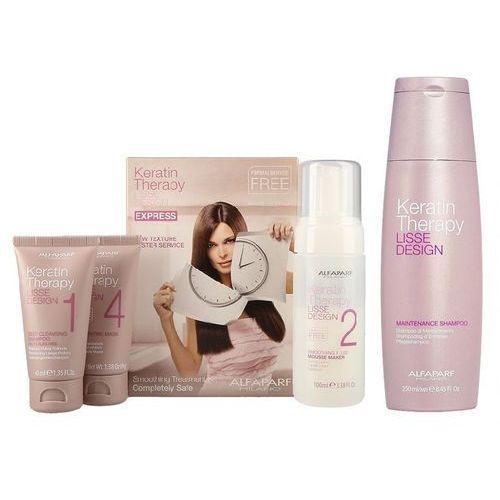 Alfaparf Keratin Therapy Smoothing Treatment Kit | Zestaw do keratynowego prostowania włosów + szampon 250ml