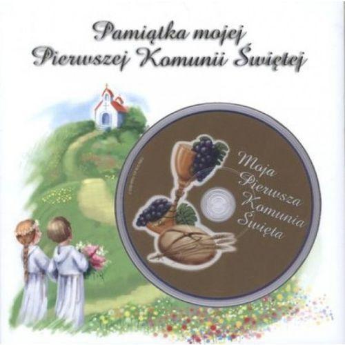 Pamiątka mojej Pierwszej Komunii Świętej z płytą DVD (40 str.)