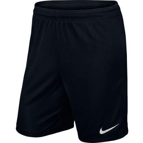 Spodenki piłkarskie park ii junior czarne marki Nike