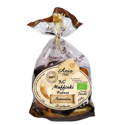 Muffinki babuni bio naturalne 200g marki Ania