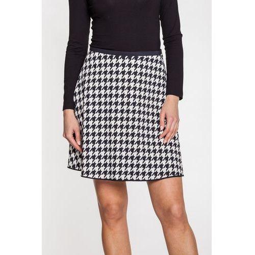 Spódnica w pepitkę - Duet Woman, kolor czarny