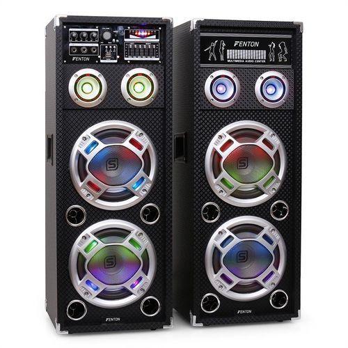 Skytec ka-28 zestaw aktywnych głośników pa karaoke,usb,sd,