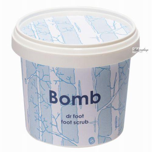 Bomb Cosmetics - Dr Foot - FOOT SCRUB - Odświeżający i nawilżający scrub do stóp DR STOPA (5037028234808)