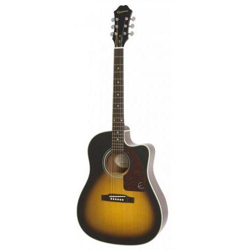 Epiphone AJ-210CE VS Outfit gitara elektroakustyczna z futerałem