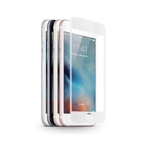 Jcpal Szkło ochronne z ramką 3d glass screen protector apple iphone 6 / 6s biały - biały (6954661846122)