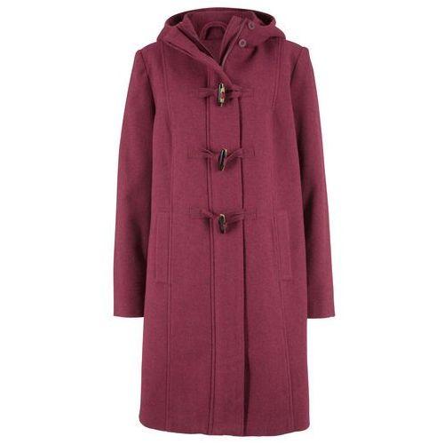 Płaszcz z materiału o wyglądzie wełny, z nadrukiem kawa lodowa-beżowo-szaro-czarny z nadrukiem, Bonprix, 34-50