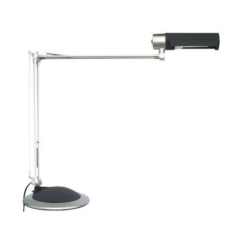 Lampka na biurko MAUL Office, 20W, mocowana zaciskiem, srebrna - sprawdź w Mercateo Polska