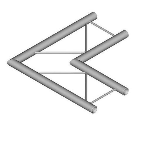 DuraTruss DT 22 C21H-L90 90° corner 50cm element konstrukcji aluminiowej