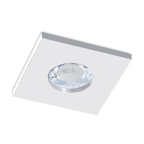 Oczko kwadratowe su classic aluminium szczotkowane gu10 ip65, 3006gu marki Bpm lighting