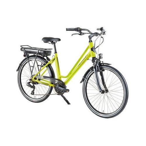 """Devron Miejski rower elektryczny 26122 - model 2018, jasny niebieski, 18"""""""