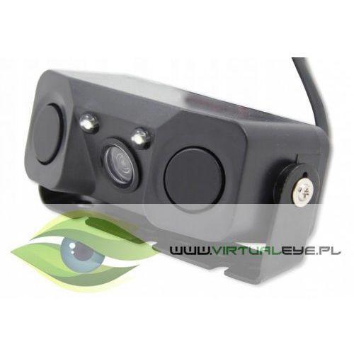 Virtualeye Kamera cofania typ 16 z czujnikami parkowania