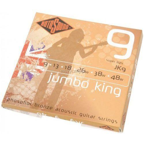 Rotosound jk-09 jumbo king struny do gitary akustycznej 9-48