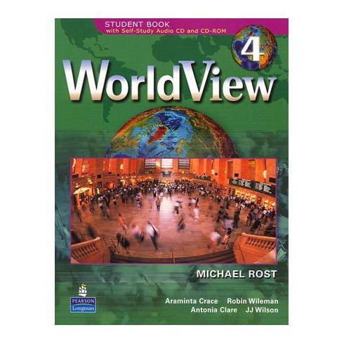 WorldView 4 with Self-Study Audio CD and CD-ROM Workbook Drosten Michaela (9780131840171)