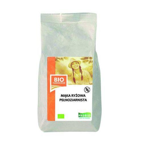 Pro-bio Mąka ryżowa pełnoziarnista bio 300g bezglutenowa, bioharmonie