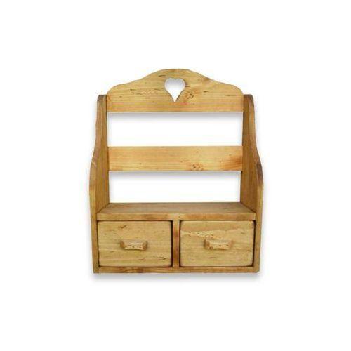 Półka wisząca z drewna świerkowego Mexicana 3 - oferta [05002578b7811630]