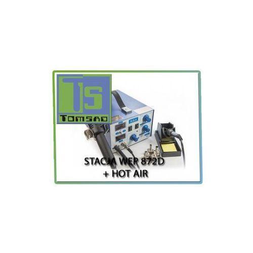 872d - stacja lutownicza z hotair marki Wep
