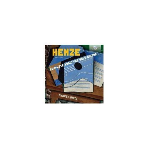 Henze Complete Music For Solo Guitar (5028421951867)