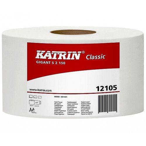 Katrin Papier toaletowy gigant s2 classic 130m 2w biały 12 rolek