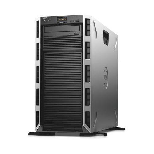 Serwer t430 z cpu xeon 6c e5-2609v4 + 8gb ddr3 + nohdd + kontroler h330 z raid 5 + 1y nbd marki Dell