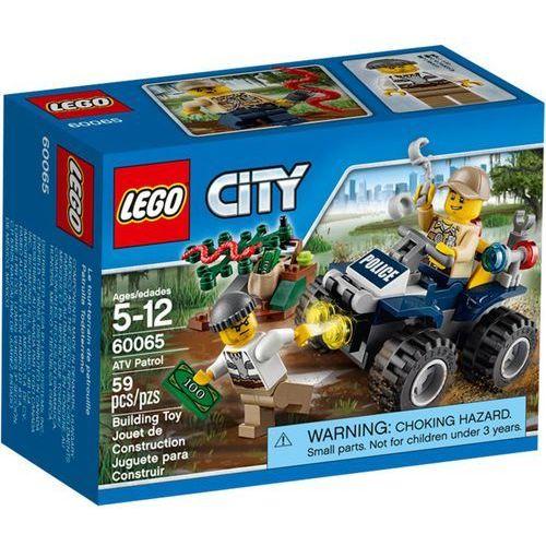 Lego City PATROLOWY QUAD 60065 z kategorii: klocki dla dzieci