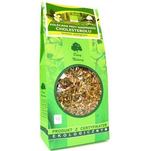 Polecana przy nadmiarze cholesterolu Eko 200g - herbatka Dary Natury (5902741007896)