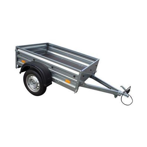 Unitrailer Przyczepa samochodowa 150 x 106 lekka dmc 750 kg garden trailer 150 wyprzedaż
