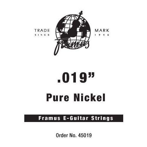 blue label - struna pojedyncza do gitary elektrycznej,.019, plain marki Framus