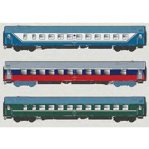 Zestaw 3 wagonów sypialnych D 1248/1249 Berlin-Rosja ACME 55149 (8020300551493)