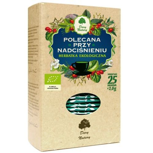 Dary natury Polecana przy nadciśnieniu eko - herbata ekspresowa (5902741005854)