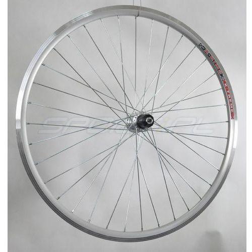 """Stars circle Koło tylne aluminiowe 28"""" pod kasetę 7-rzędową obręcz stożkowa srebrna"""