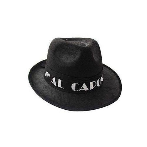 4291aaff2 Go Kapelusz gangsterski al capone - czarny - 1 szt. (5901238667124) 11,49  zł Kapelusz gangsterski Al Capone czarny. Kapelusz pasuje na każdą głowę!