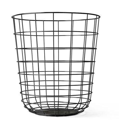 Kosz druciany Menu Wire Bin black - oferta [25cee70ec1c2f3d1]