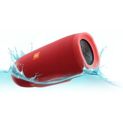 Głośnik mobilny JBL Charge 3 Czerwony Wodoodporny IPX7 + DARMOWY TRANSPORT!