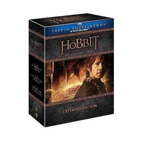 Hobbit: Trylogia - Wydanie rozszerzone (9 Blu-ray) (Płyta BluRay)