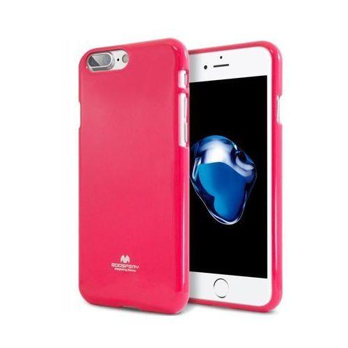 Mercury etui jelly case iphone x różowy (8806164342893)