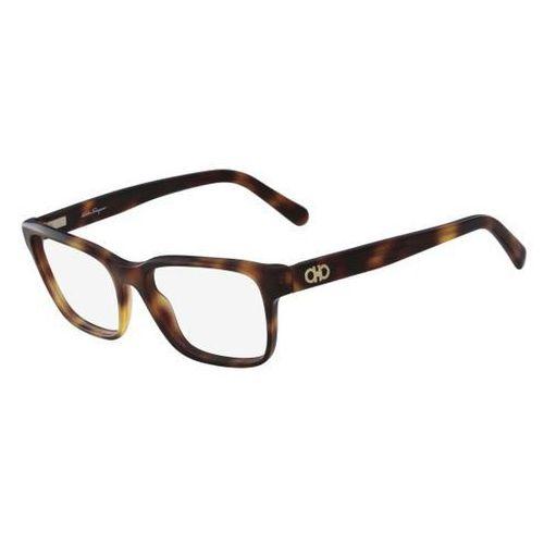 Okulary korekcyjne sf 2790 214 marki Salvatore ferragamo