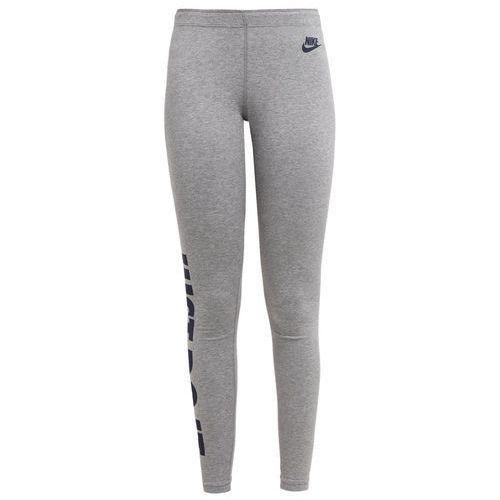Nike Sportswear LEGASEE Legginsy gris/bleu foncé