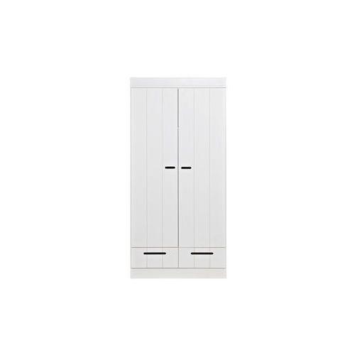 WOOOD :: SZAFA CONNECT DWUDRZWIONA Z SZUFLADAMI - 2-drzwiowa z szufladami, produkt marki Woood