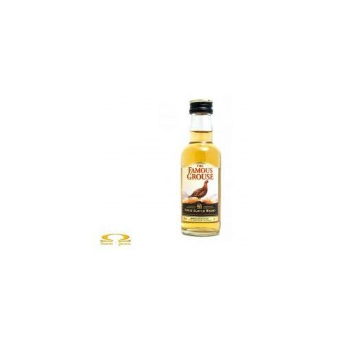 Whisky the famous grouse miniaturka 0,05l marki Edrington group ltd.