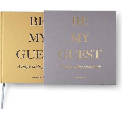 Księga gości szaro-żółta marki Printworks
