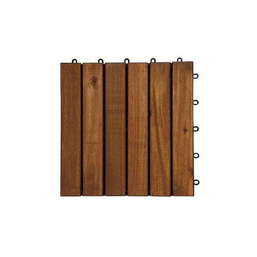 Deski tarasowe modułowe płytki 30x30cm akacja 6 klepek (deska tarasowa)