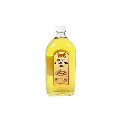 Olej migdałowy naturalny 500ml KTC