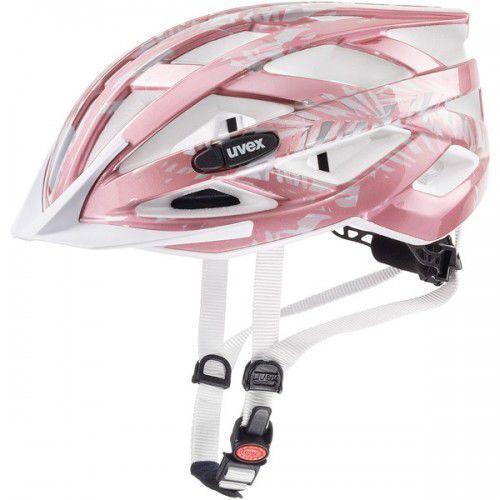 UVEX kask rowerowy Air wing 52-57 cm różowo-biały, 41/4/426/18/15