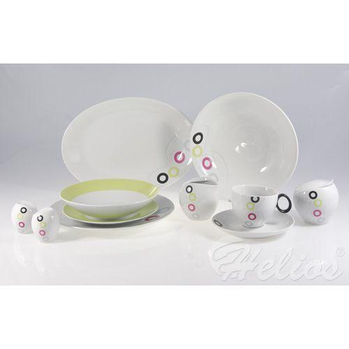 ĆMIELÓW: Serwis obiadowo-kawowy na 6 os. /36 części/ - QUEBEC E-928 - sprawdź w Helos-Szkło