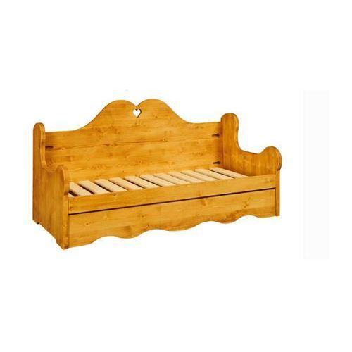Sofa z drewna świerkowego Mexicana 2, Gowood