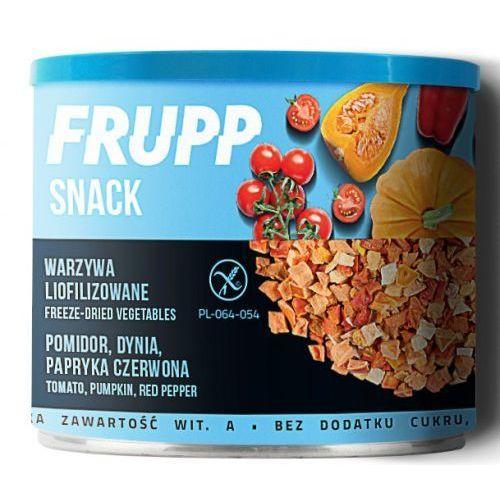 Frupp Snack warzywa liofilizowane pomidor, dynia, papryka 30g, D7A9-440A2