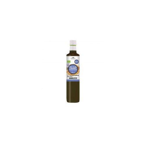 Dr gaja Olej lniany budwigowy, zimnotłoczony nierafinowany 500 ml -