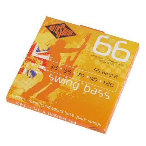 Rotosound rs-665lb swing bass struny 35-120
